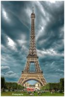 Paris - Eiffel Tower VI by superjuju29