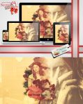 Wallpaper Pack - Belle and Rumple - GIFT by dreamswoman