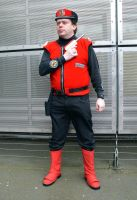 Captain Scarlet Cosplay (1) by masimage
