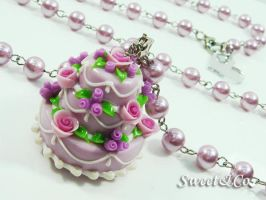 3layer ColorCake Long Necklace by SweetandCo