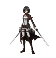 Mikasa Render #2 by lextranges
