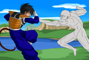 Escaro Vs [OPEN Collab!] by InstinctShadowSaiyan