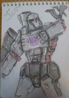 Megatron sketch 27.1.13 - colored by itamar050