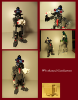 Lego MOC: Whiskered Gentleman by Shadowmarx