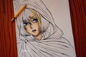 Armin progress by DoreiShounen