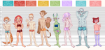 ESA: Character line up by R3llO