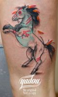 Horse by yadou