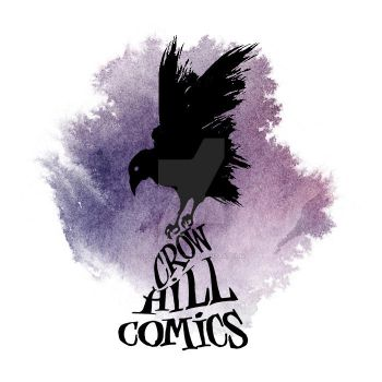 CROW HILL COMICS LOGO/IDENTITY COMMISSION. by MadowlGFXVFX
