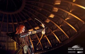 Aela the Huntress by MargaretCosplayArt