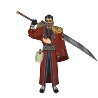 Auron - Final Fantasy X by Carcharocles
