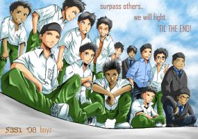 5BS1 08 boyz by F-one-R