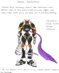 Black Gallantmon by Empty-Brooke
