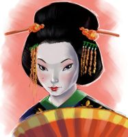 geisha girl by jFury