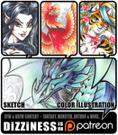 My Patreon is LIVE! by dizziness