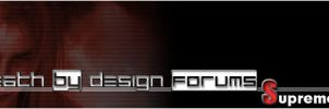 Death by Design Web Banner by masamune