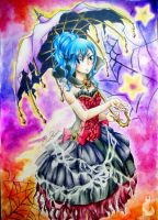 Happy Juvia Halloween!! by EvanRank
