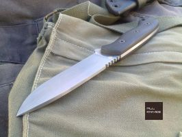 Land Ware O1 knife by MLLKnives