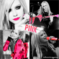 Avril Lavigne PINK by selenaismyqueen