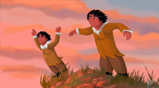 Power of wind - Brother bear in human version by Pridipdiyoren