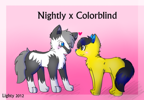 Nightly x Colorblind by LightAnimaux