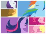 My Little Pony Friendship is Magic Mane Six by JellybeanMollie