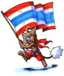 Waving ThaiFlag by Lylac