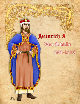 Henry the Strong of Austria by Pelycosaur24