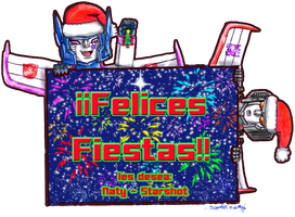 Felices Fiestas by Starshot-seeker