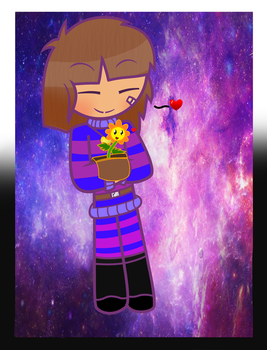 Frisk(finshed by Speedpaintwithmoon