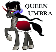 Queen Umbra by CrammedInAJar