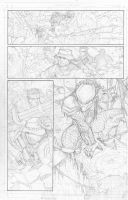 Predator Pencils for Portfolio by jeffwamester