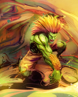 Blanka Surge by DraGoonMS