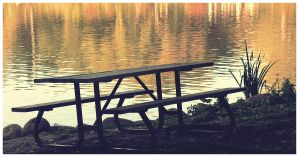 Picnic Table by DrZapp