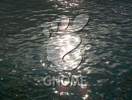 GNOME evening ripples by biggyp