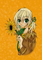 Sunflower by Tseng-Akera