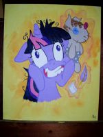 Crazy Psycho Twilight Sparkle by EquestriaPaintings