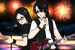 Me and my brother were Rock N Roll by JeanUchiha18