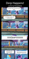 Derp Happens (Page 1) by PonySalute