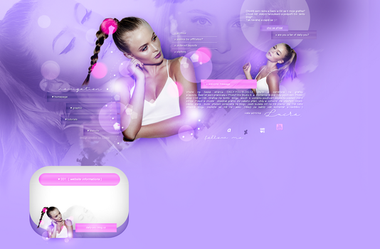 Layout ft. Zara Larsson by PixxLussy