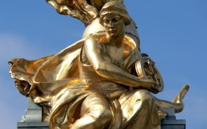 Golden Statues 03 by RoyalScanners