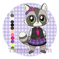 Raccoon Adopt (CLOSED) by Tamatanium