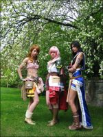 FFXIII - Triple threat by Fallen--Angel