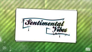 Logo Sentimental Vibes by nofx