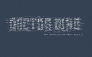 Doctor Who background by Marsitko