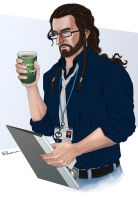 Thorin the Technical Department Manager by vigshane