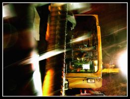 Yellow Digger by Night by pippa-hynelin