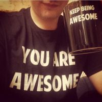 Awesome Mug and T-Shirt (Instagram) by Vendus