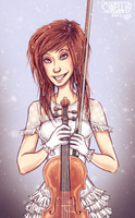 Lindsey Stirling - Let it snow! by cynellis