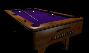 Pool Table 2 by Cunning69Linguist