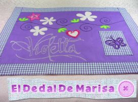 Violetta individual tablecloth by MrsSewing